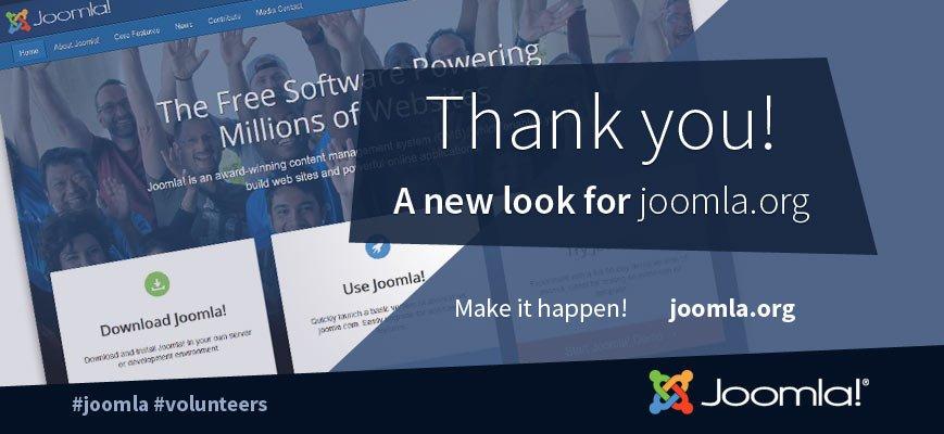 the fresh air joomla 1 joomla s homepage gets a fresh look