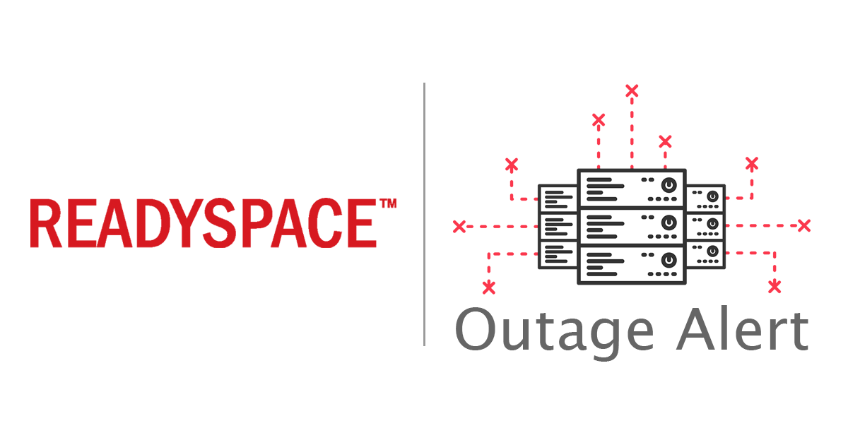 ReadySpace Outage Alert