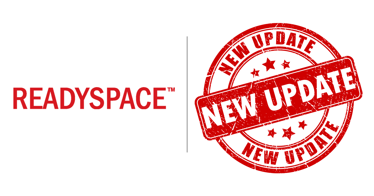 ReadySpace New Update